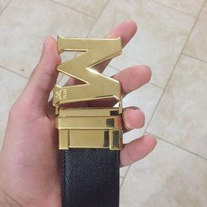 MCM Other - Versible mcm belt
